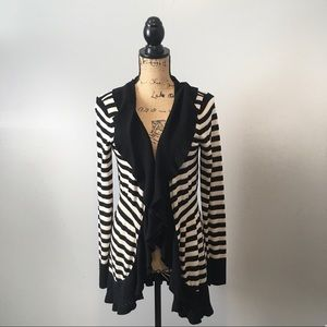 White House Black Market Cardigan Size Large